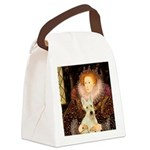Queen / Scottie (w) Canvas Lunch Bag