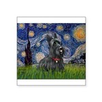 StarryNight-Scotty#1 Square Sticker 3