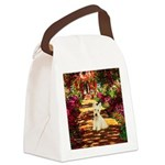 Path / Scottie (w) Canvas Lunch Bag