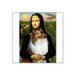 Mona's Sable Sheltie Square Sticker 3