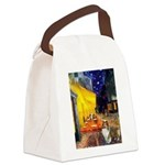 Cafe / Sheltie Canvas Lunch Bag