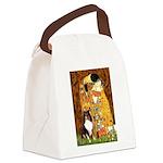 Kiss/Tri Color Sheltie Canvas Lunch Bag