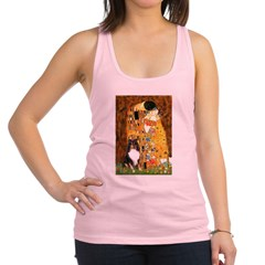 Kiss/Tri Color Sheltie Racerback Tank Top