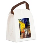 Cafe - Shiba Inu (std) Canvas Lunch Bag