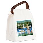 Bassin/Shih Tzu (P) Canvas Lunch Bag