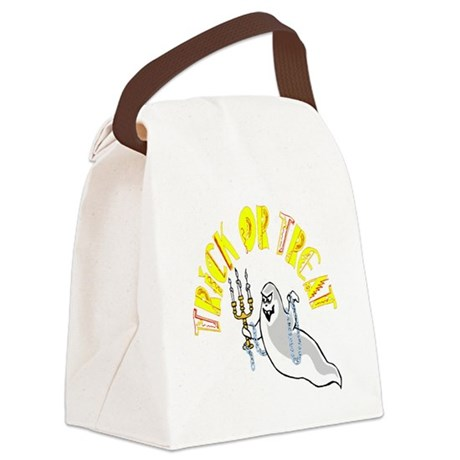ghost.png Canvas Lunch Bag