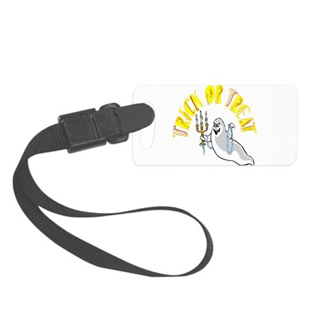 ghost.png Small Luggage Tag
