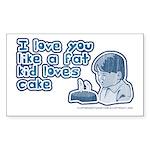 Starry-Siberian pup 5.25 x 5.25 Flat Cards