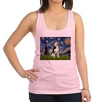 Starry Night & Husky Racerback Tank Top