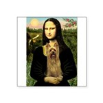 Mona Lisa / Silky T Square Sticker 3