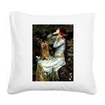 Ophelia / Silky T Square Canvas Pillow