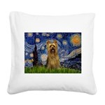 Starry Night / Silky T Square Canvas Pillow