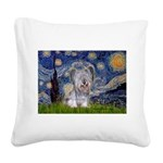 Starry / Skye #3 Square Canvas Pillow