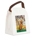 Spring / Vizsla Canvas Lunch Bag