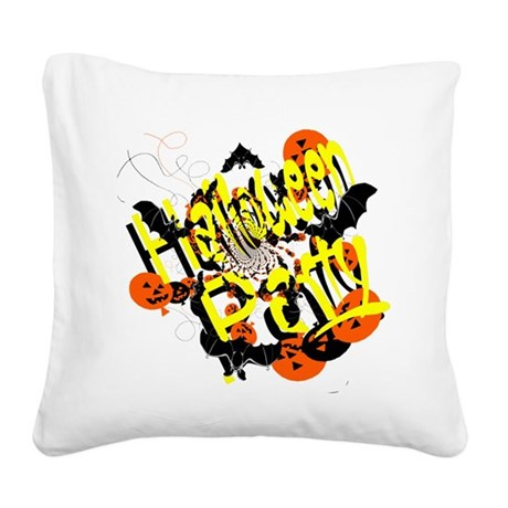 hh5.png Square Canvas Pillow