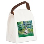Bridge / Welsh Corgi (Bl.M) Canvas Lunch Bag