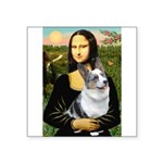 Mona's Corgi (Bl.M) Square Sticker 3