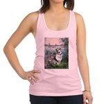 The Seine - Corgi (Bl.M) Racerback Tank Top