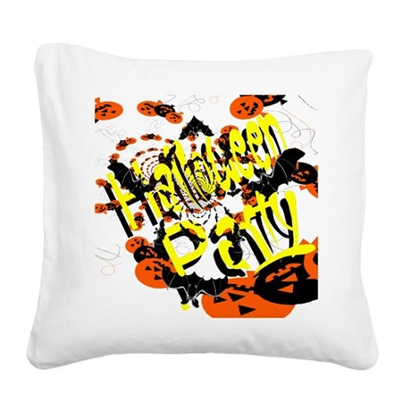 hh6.png Square Canvas Pillow