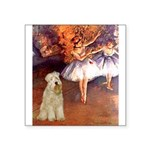 Dancer1/Wheaten T (7) Square Sticker 3