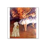 Dancer1/Wheaten T (7) Square Sticker 3