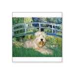 Bridge & Wheaten Square Sticker 3