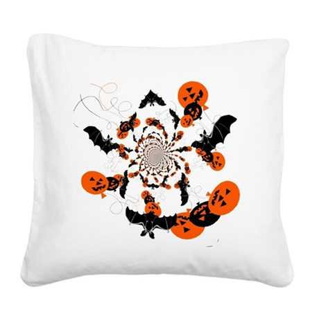 hh4.png Square Canvas Pillow