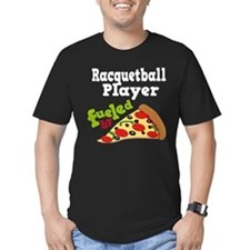 Racquetball Player Funny Pizza T
