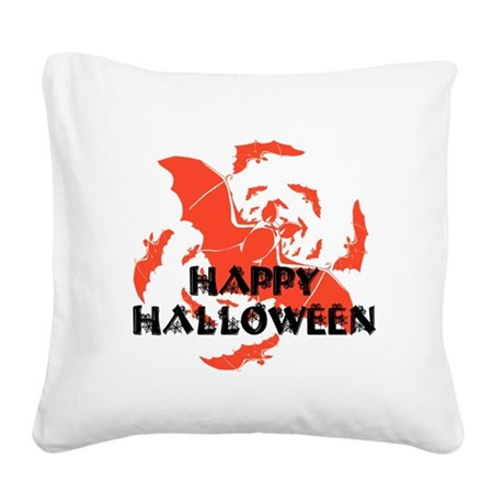 hh7.png Square Canvas Pillow