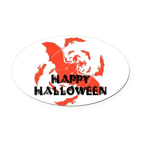 hh7.png Oval Car Magnet