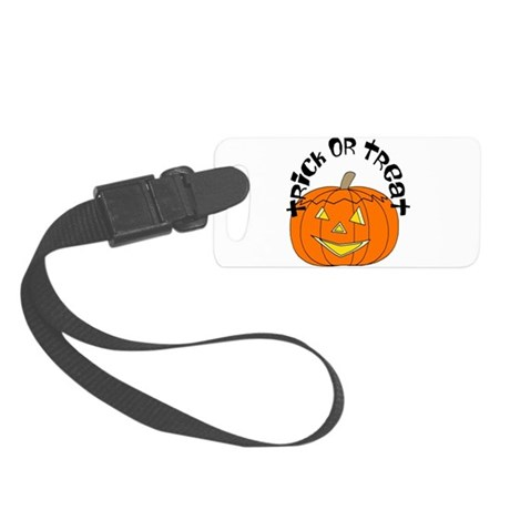 pumkin3.png Small Luggage Tag