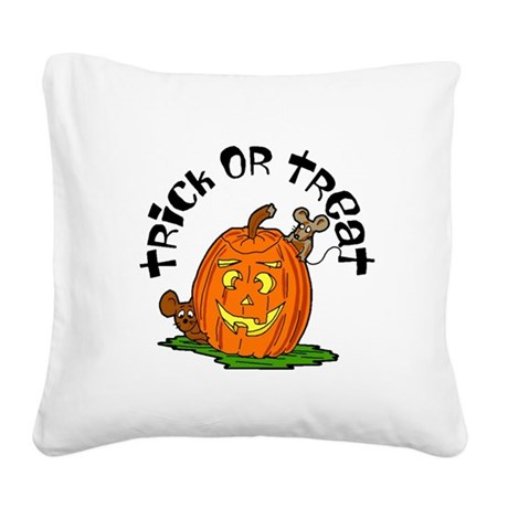 pumkin.png Square Canvas Pillow