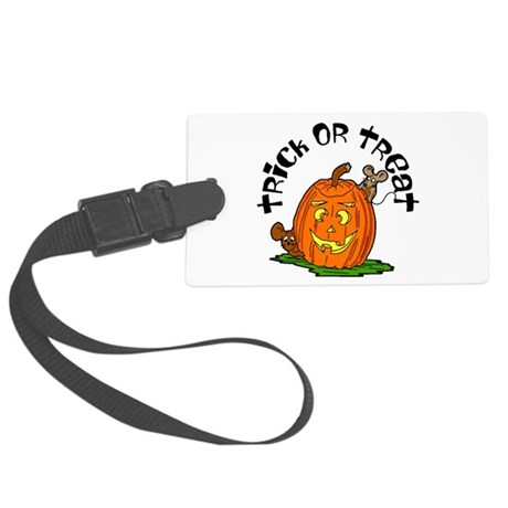 pumkin.png Large Luggage Tag