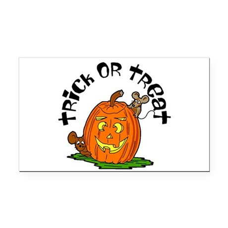 pumkin.png Rectangle Car Magnet
