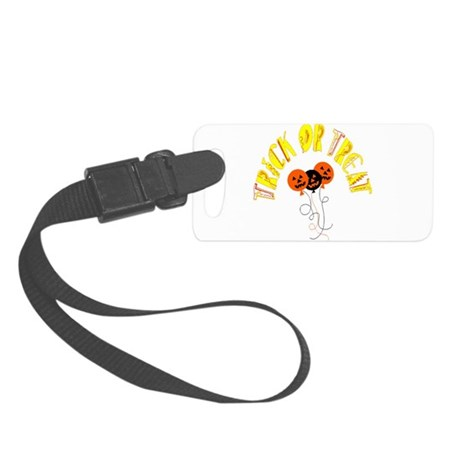 pumpkin5.png Small Luggage Tag