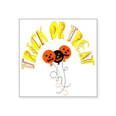 "pumpkin5.png Square Sticker 3"" x 3"""