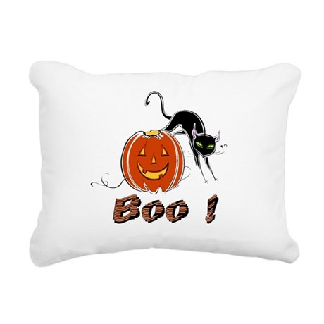 boo1.png Rectangular Canvas Pillow