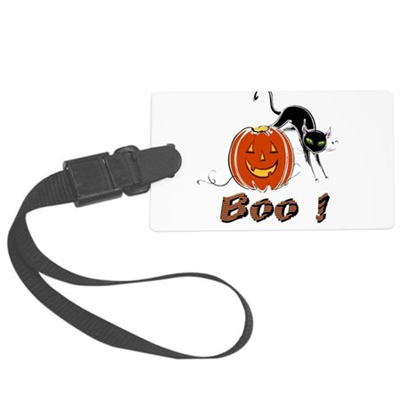 boo1.png Large Luggage Tag