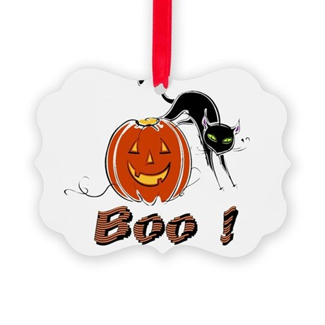 boo1.png Picture Ornament