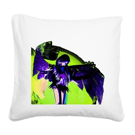 angel_2c.png Square Canvas Pillow