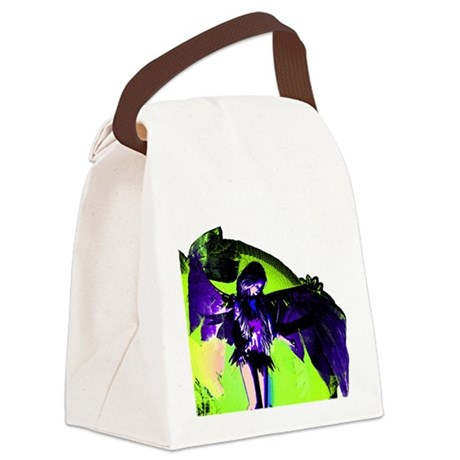 angel_2c.png Canvas Lunch Bag