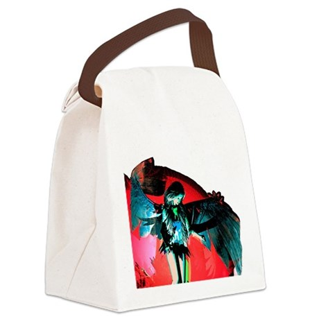 angel_2b.png Canvas Lunch Bag