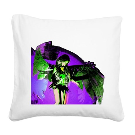 angel_2a.png Square Canvas Pillow