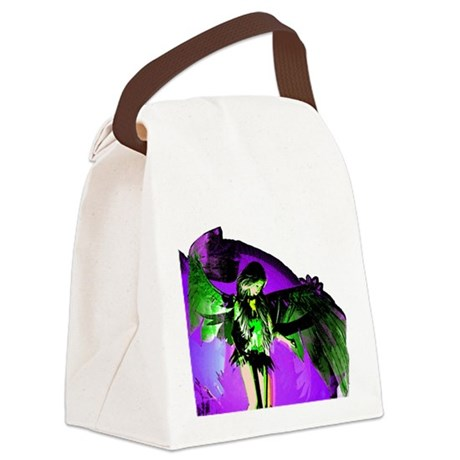 angel_2a.png Canvas Lunch Bag