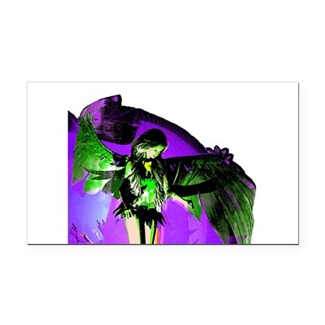 angel_2a.png Rectangle Car Magnet