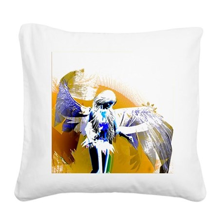 angeld.png Square Canvas Pillow