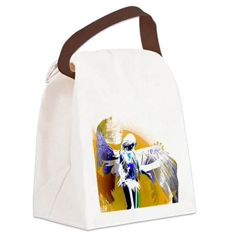 angeld.png Canvas Lunch Bag