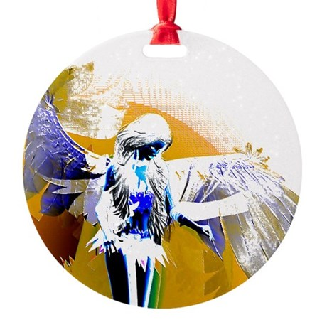 angeld.png Round Ornament