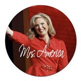 Ann Romney Election 2012 Round Car Magnet