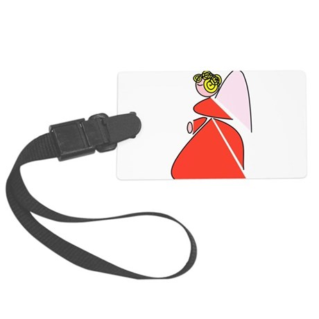 angel9b.png Large Luggage Tag